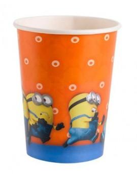 Bicchieri Minions da 266 ml (8 pz)