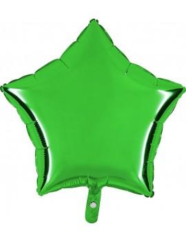 """Palloncino Stella 18"""" Colore Verde"""