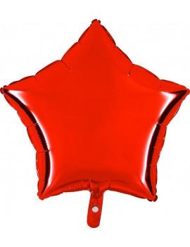 """Palloncino Stella 18"""" Colore Rosso"""