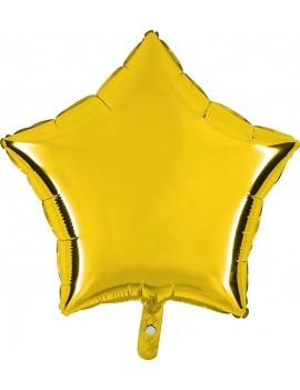 """Palloncino Stella 18"""" Colore Oro"""