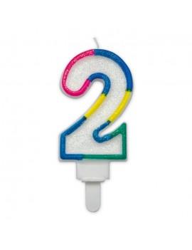 Candelina Maxi Numero 2 (Sweet)
