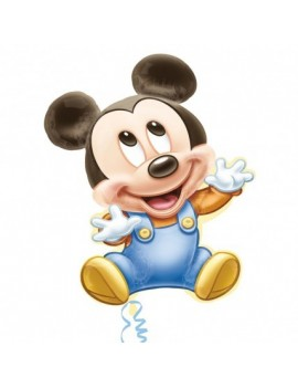 Palloncino Supershape Baby Mickey Mouse