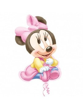 Palloncino Supershape Baby Minnie Mouse