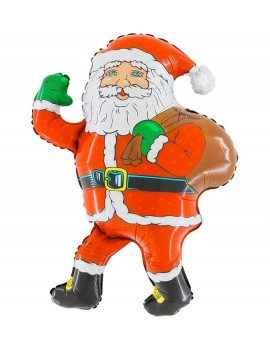 Palloncino Babbo Natale con Sacco