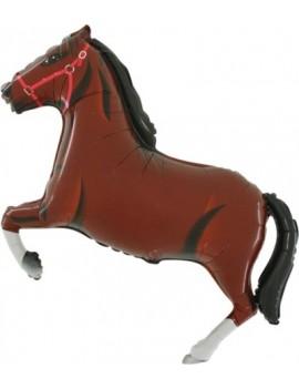 Mini Palloncino Cavallo Marrone