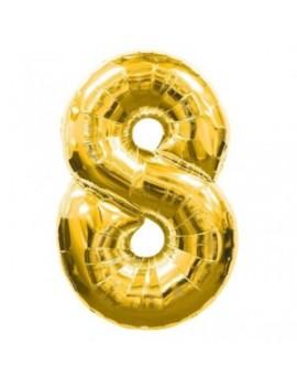 Palloncino Numero 8 (35 cm)