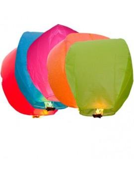 Lanterne dei Cieli Colore Misto 4 pz