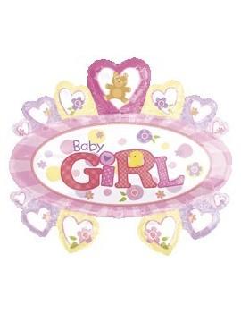 Palloncino Baby Girl Nascita