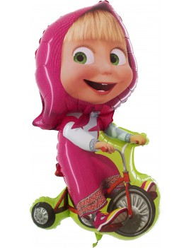 Palloncino Masha con Bici