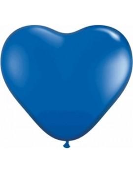 """Palloncini Cuore 5"""" Blu"""