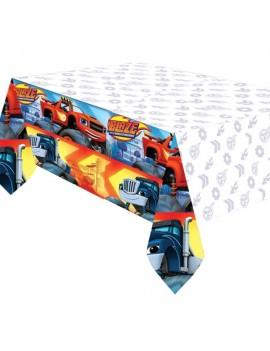 Tovaglia in Plastica Blaze e Le Mega Macchine (120x180 cm)