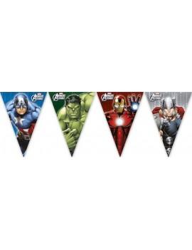 Festone Bandierina Avengers