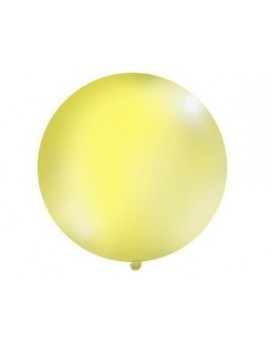Pallone Gigante in Lattice Colore Giallo (1 mt)