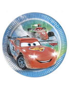 Piattini di Carta Cars Ice 20 cm (8 pz)