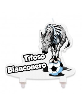 Candela Zebra Tifoso Bianconero