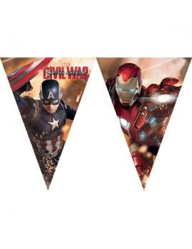 Festone Bandierina Avengers Civil War