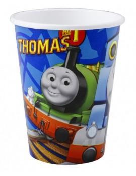 Bicchieri di Plastica Trenino Thomas da 200 ml (8 pz)
