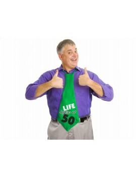 Cravatta Verde per 50 anni