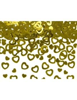 Confetti Decorativi Cuori Oro