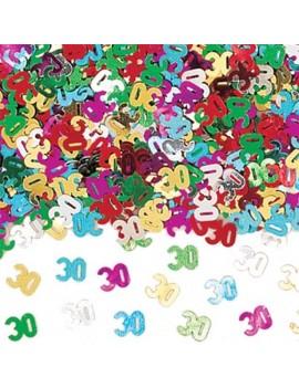 Confetti Decorativi Numero 30 Multicolor