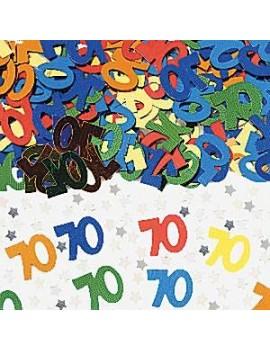 Confetti Decorativi Numero 70 Multicolor