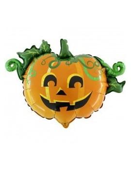 "Palloncino Zucca Halloween 17"""