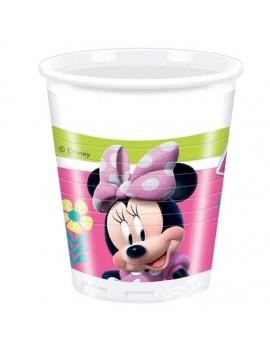 Bicchieri Minnie Mouse Happy Helpers da 200 ml (8 pz)