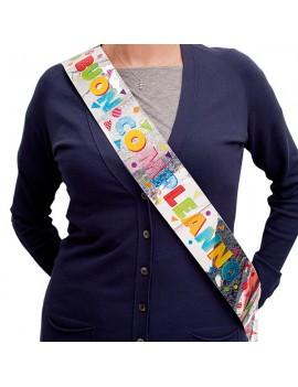 Fascia Buon Compleanno Multicolor
