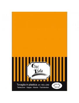 Tovaglia Arancio in PVC (140x240 cm)