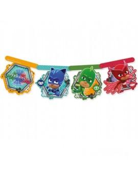 Festone Banner Pj Masks - Super Pigiamini