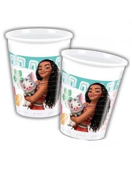 Bicchieri Oceania Disney da 200 ml (8 pz)