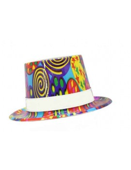 Cappelli di Plastica Grandi Assortiti (6 pz)