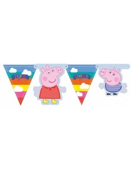 Festone Banner Peppa Pig