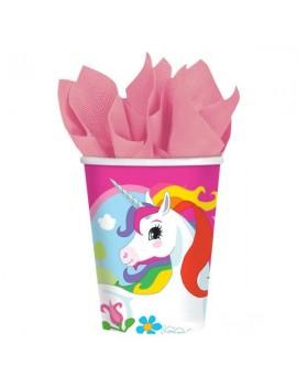 Bicchieri Unicorno da 266 ml (8 pz)