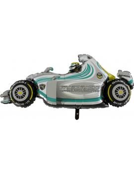 Palloncino Formula Uno Argento in Mylar