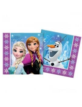 Tovaglioli di Carta Frozen Northern Light (20 pz)