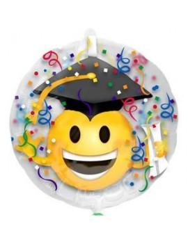 Palloncino Mylar Insider Laurea Emoji 24