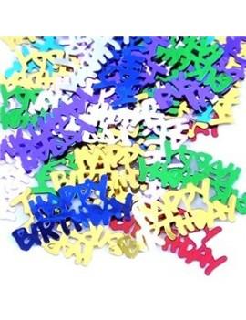 Confetti Decorativi Happy Birthday Multicolor