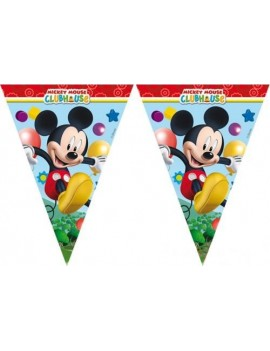 Festone Bandierina Mickey Mouse