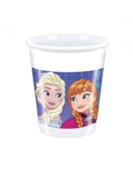 Bicchieri Frozen Snowflakes da 200 ml