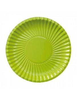 """Piatti 23"""" Verde Mela (10 pz)"""