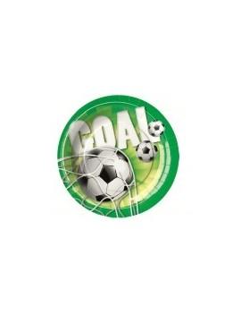 """Piattini 18"""" Goal - Calcio (10 pz)"""