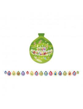 Festone Buon Compleanno Balloon Multicolor