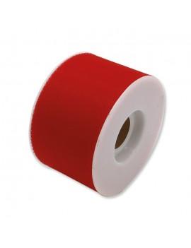Tulle 5 cm x 50 mt colore Rosso
