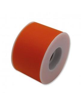 Tulle 5 cm x 50 mt colore Arancione
