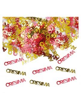 Confetti Decorativi Cresima (Oro e Rosso)