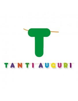 Festone Maxi Tanti Auguri Multicolor