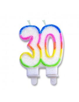 Candelina Numero 30 (Sweet)
