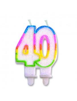 Candelina Numero 40 (Sweet)