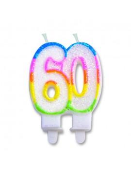 Candelina Numero 60 (Sweet)